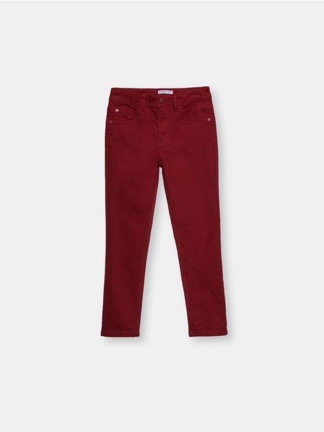 Bawełniane jeansy