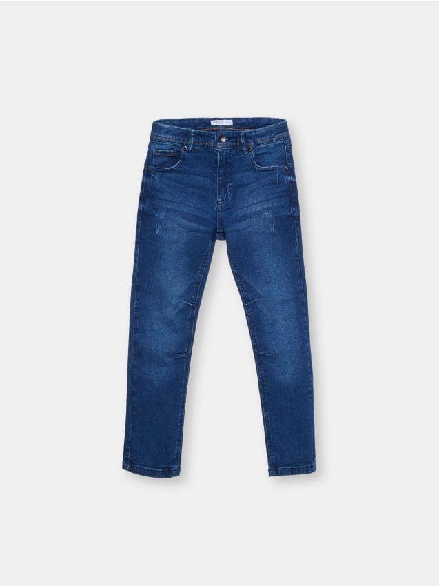 Bawełniane jeansy regular