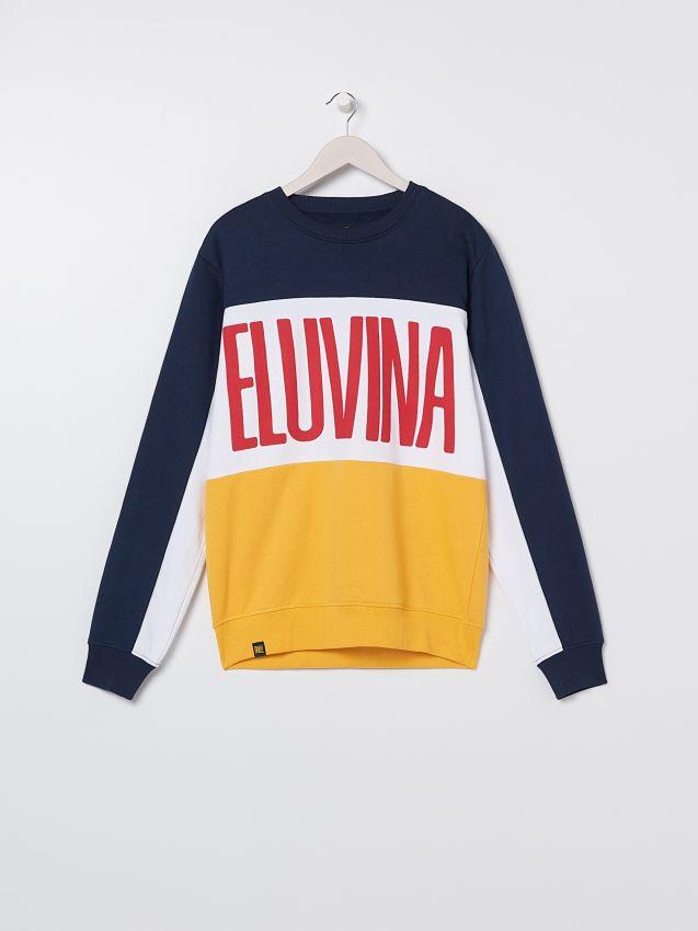 Bluza dresowa z napisem
