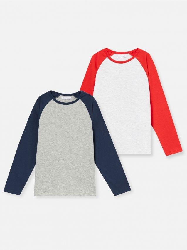2 pack bawełnianych koszulek