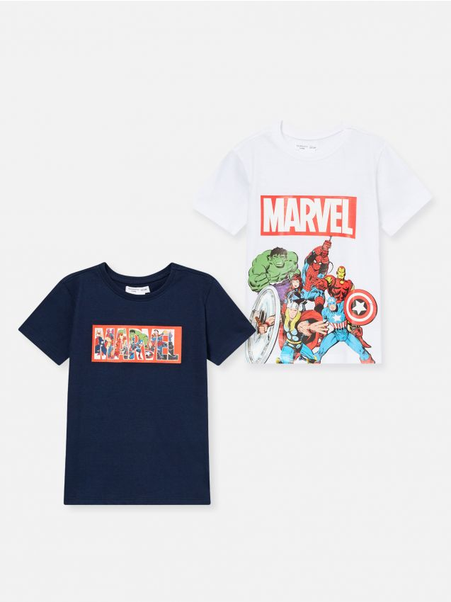 2 pack koszulek Marvel