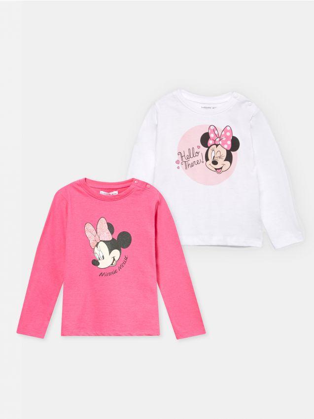 2 pack koszulek Myszka Minnie