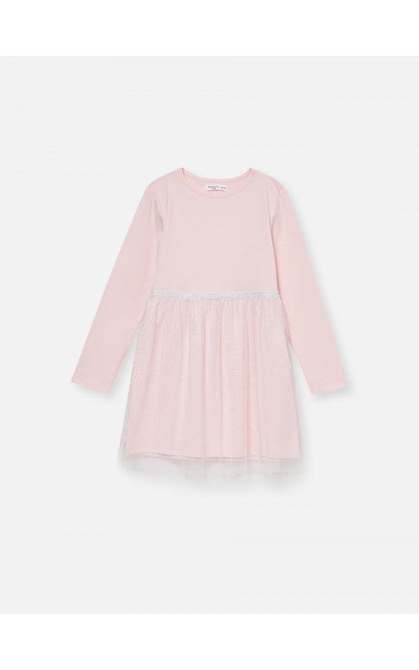 Платье с тюлевым низом, SINSAY, XQ029-03X