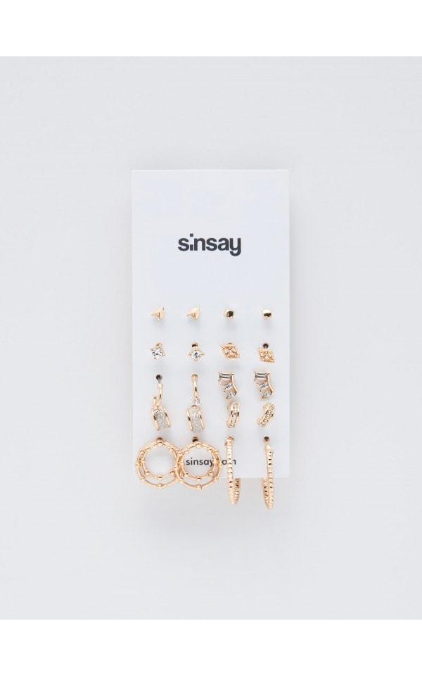 Серьги, SINSAY, YP222-GLD