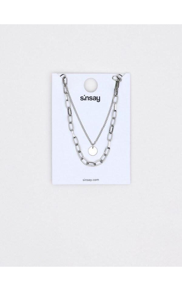 Ожерелье, SINSAY, ZK092-SLV