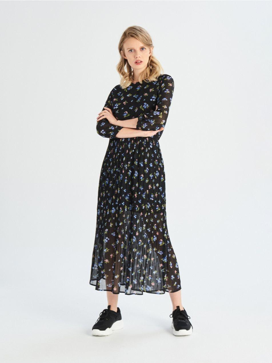 ... Dlhé šaty - čierna - UZ510-99X - Sinsay - 3 ... 79b87a63f94