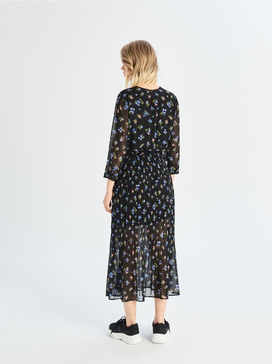 ... Dlhé šaty - čierna - UZ510-99X - Sinsay - 4 3406848b643