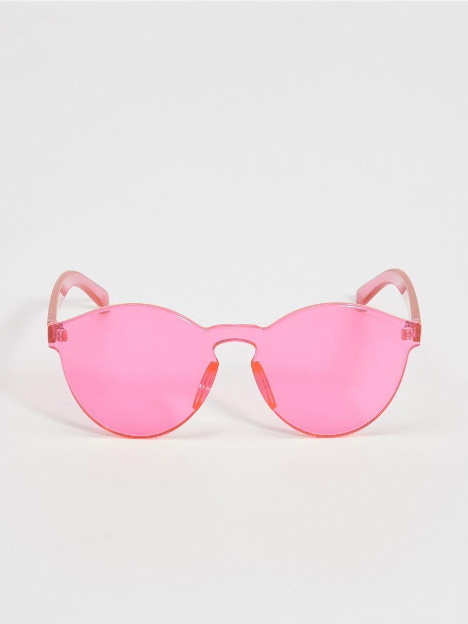 Farebné slnečné okuliare - ružová - VR519-42X - Sinsay - 4 12d3d60baeb