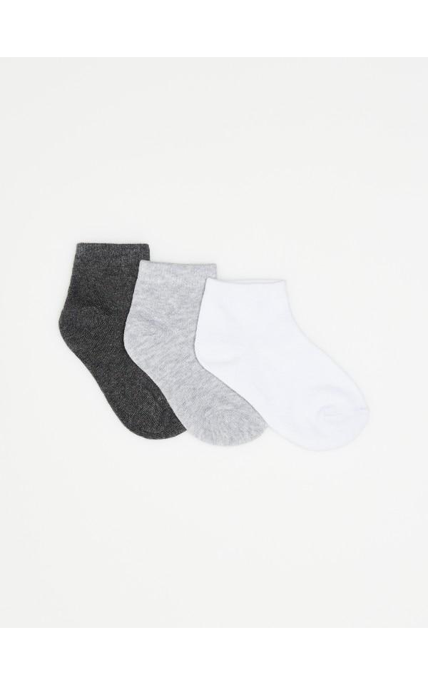 Короткі шкарпетки, 3 пари, SINSAY, XB493-90M